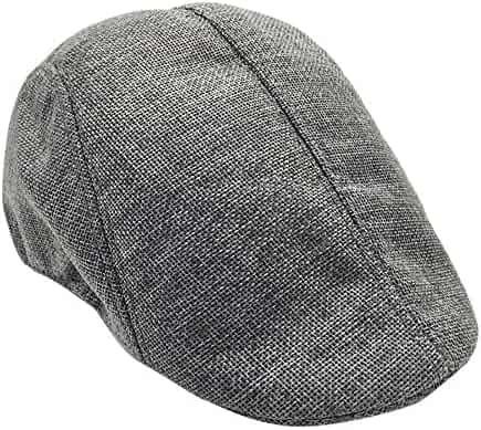 ea584619 Limsea Men Summer Visor Hat Sunhat Mesh Running Sport Casual Breathable  Beret Flat Cap