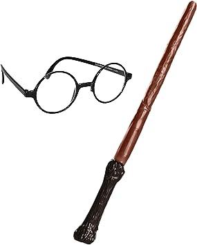 Oferta amazon: Rubie's Official, Paquete de Accesorios de Harry Potter, Varita y Gafas, el ambalaje puede variar