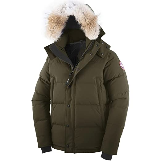 Canada Goose Men's Wyndham Parka (Military Green, X-Small)
