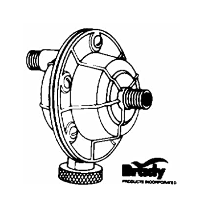 Brady Air Volume Control Repairable 100 Psi 140 Deg F Die Cast Zinc