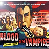 Rikki Knight RK-6intilec-3703 6'' X 6'' Vintage Movie Posters Art Blood of Vampire 3 Design Ceramic Art Tile