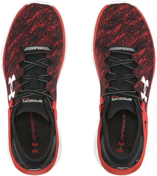 Misión Fondo verde Novelista  Amazon.com | Under Armour Mens UA SpeedForm Fortis Twist Running Shoes 13  Black | Road Running