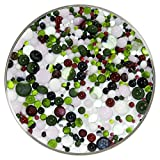 Water Lilies Designer Collection Mix Frit Balls - 96COE, New Larger 1oz Size - Made from System 96 Glass