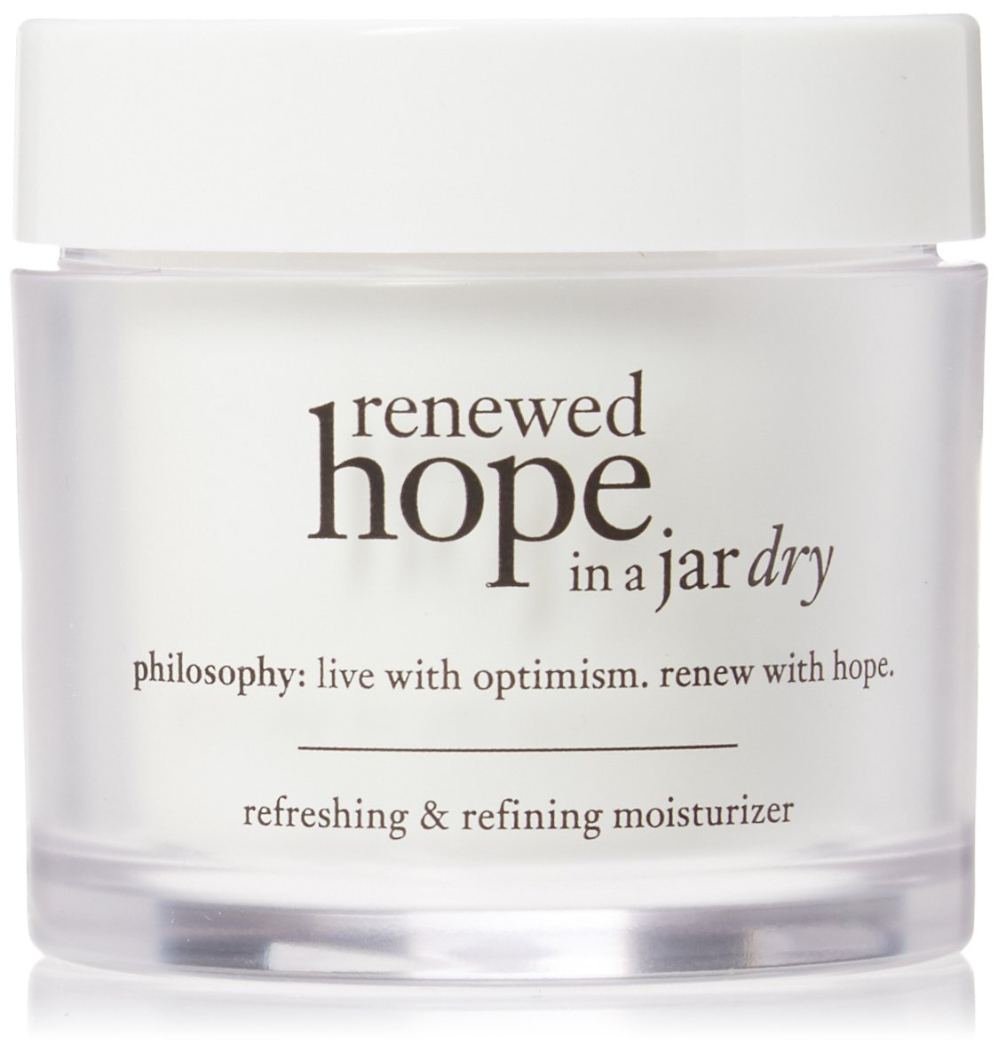 Philosophy Renewed Hope in a Jar Refreshing and Refining Moisturizer for Dry Skin, 2 Ounce by Philosophy