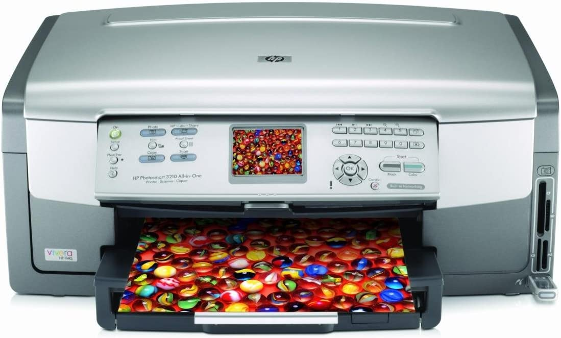 Scanner and Copier HP Photosmart 3210 All in One Photo Printer ...