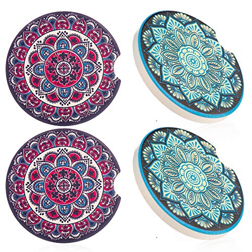 4pack Car Coasters Cup