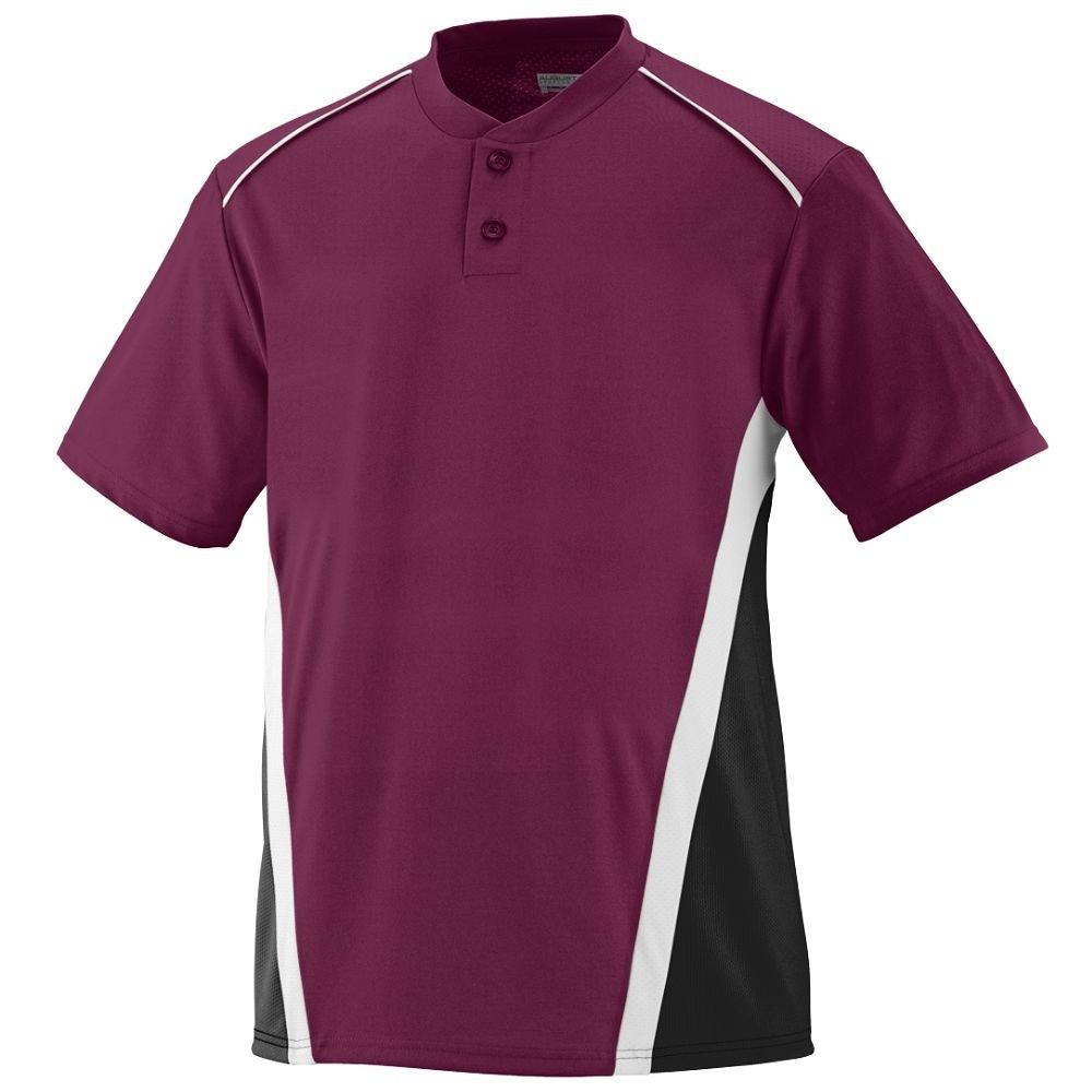Augusta SportswearメンズRBI野球ジャージー B00E1YTZM0 XX-Large マルーン/ブラック/ホワイト マルーン/ブラック/ホワイト XX-Large