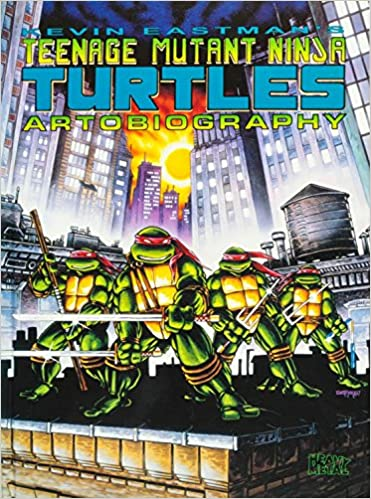 Teenage Mutant Ninja Turtles Artobiography: Amazon.es: Kevin ...