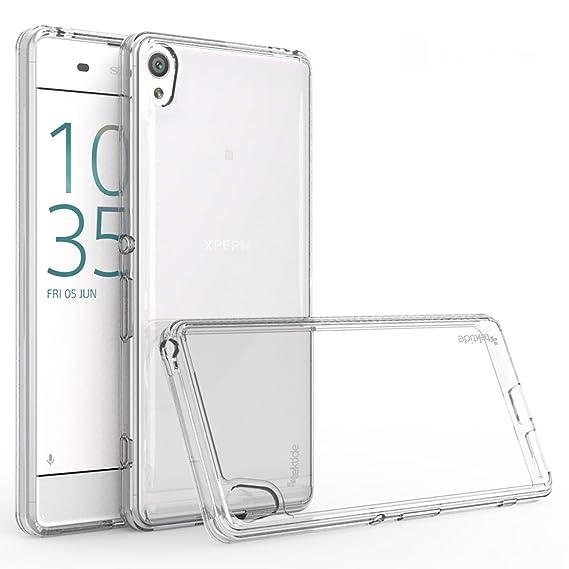 brand new c2f49 7bfe7 Amazon.com: Tektide Case Compatible for Sony Xperia XA Ultra ...