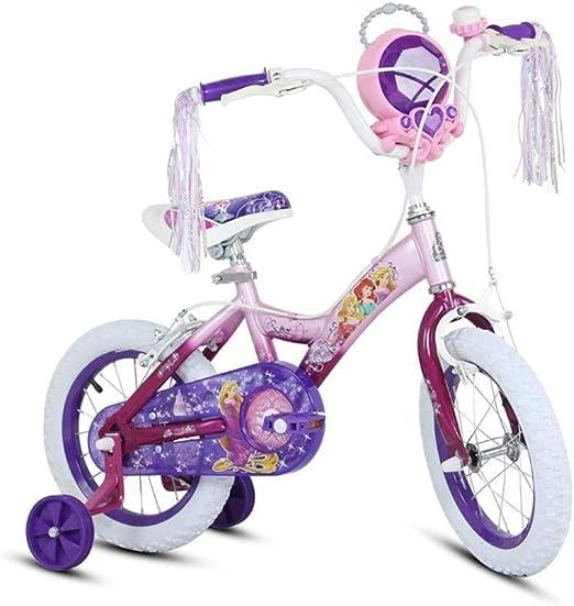MDBYMX Bicicleta Infantil Bicicleta for niños Princesa Estudiante ...
