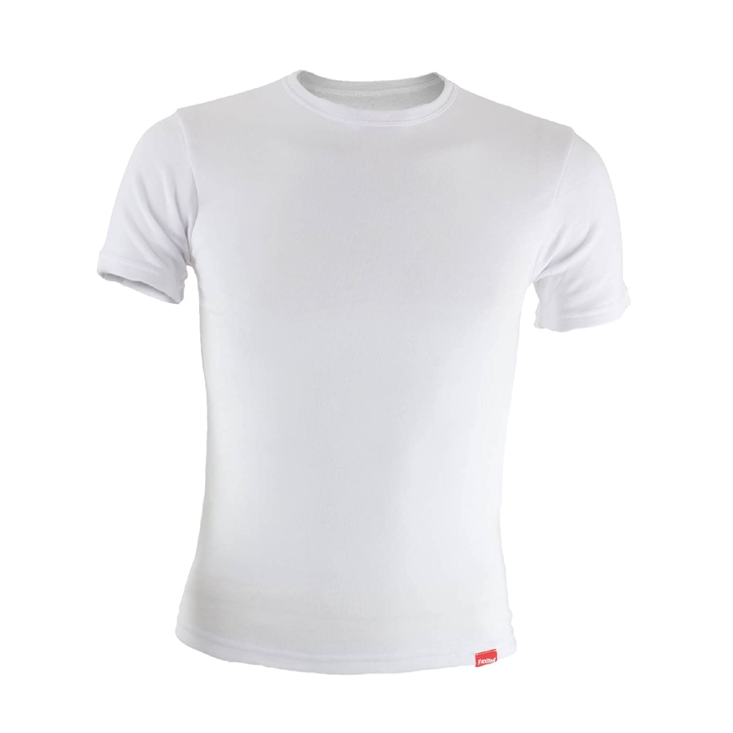 FlexiTog - White Thermal Baselayer Short Sleeve T-shirt