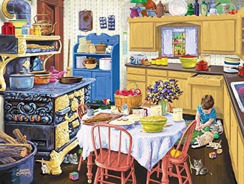 SunsOut Nanas Kitchen Jigsaw Puzzle (500-Piece)