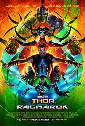 Import Posters THOR RAGNAROK - US Movie Wall Poster Print – 30cm x 43cm /  12 Inches x 17 Inches Comic Con: Amazon.co.uk: Kitchen & Home