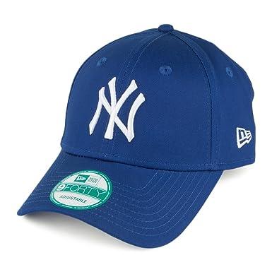 6d504276c New Era 9FORTY New York Yankees Baseball Cap - League Basic - Royal ...
