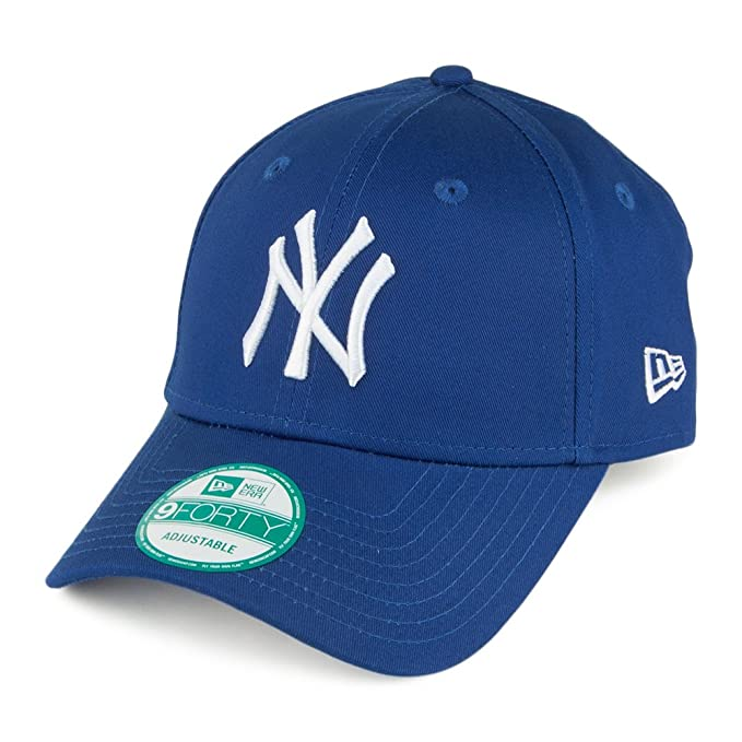 Gorra béisbol 9FORTY League Basic New York Yankees New Era - Azul Real -  Adjustable  Amazon.es  Ropa y accesorios 3c8003168bc