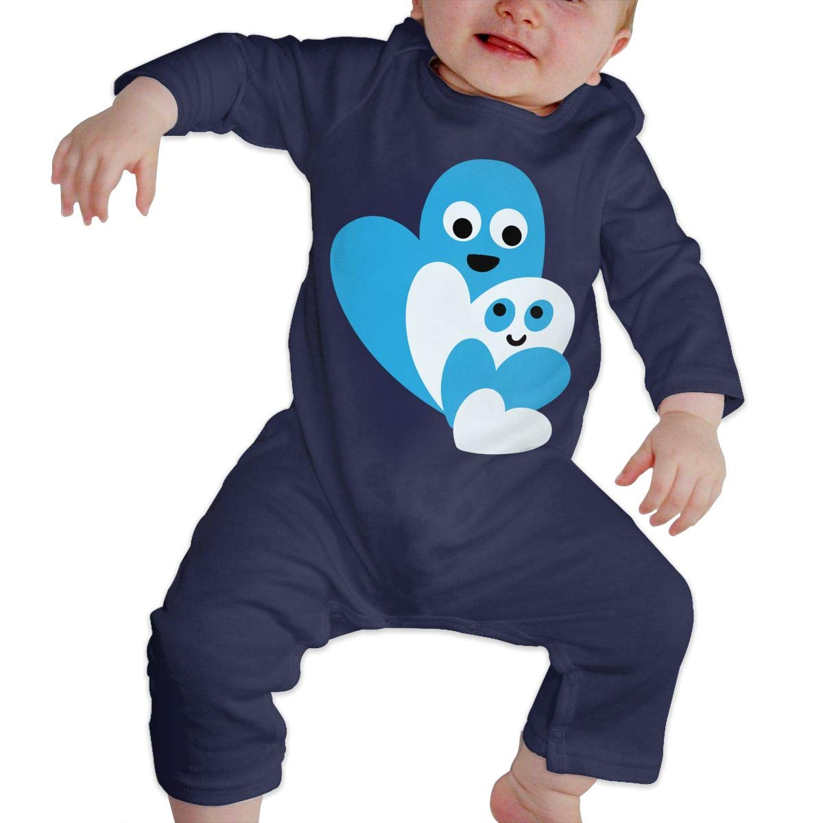 Baby Boy Jumpsuit Family of Happy Hearts Toddler Jumpsuit