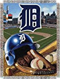 """MLB Detroit Tigers Home Field Advantage Woven Tapestry Throw, 48"""" x 60"""""""