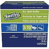 Swiffer Dry Refill System, Cloth, White, 32/Box