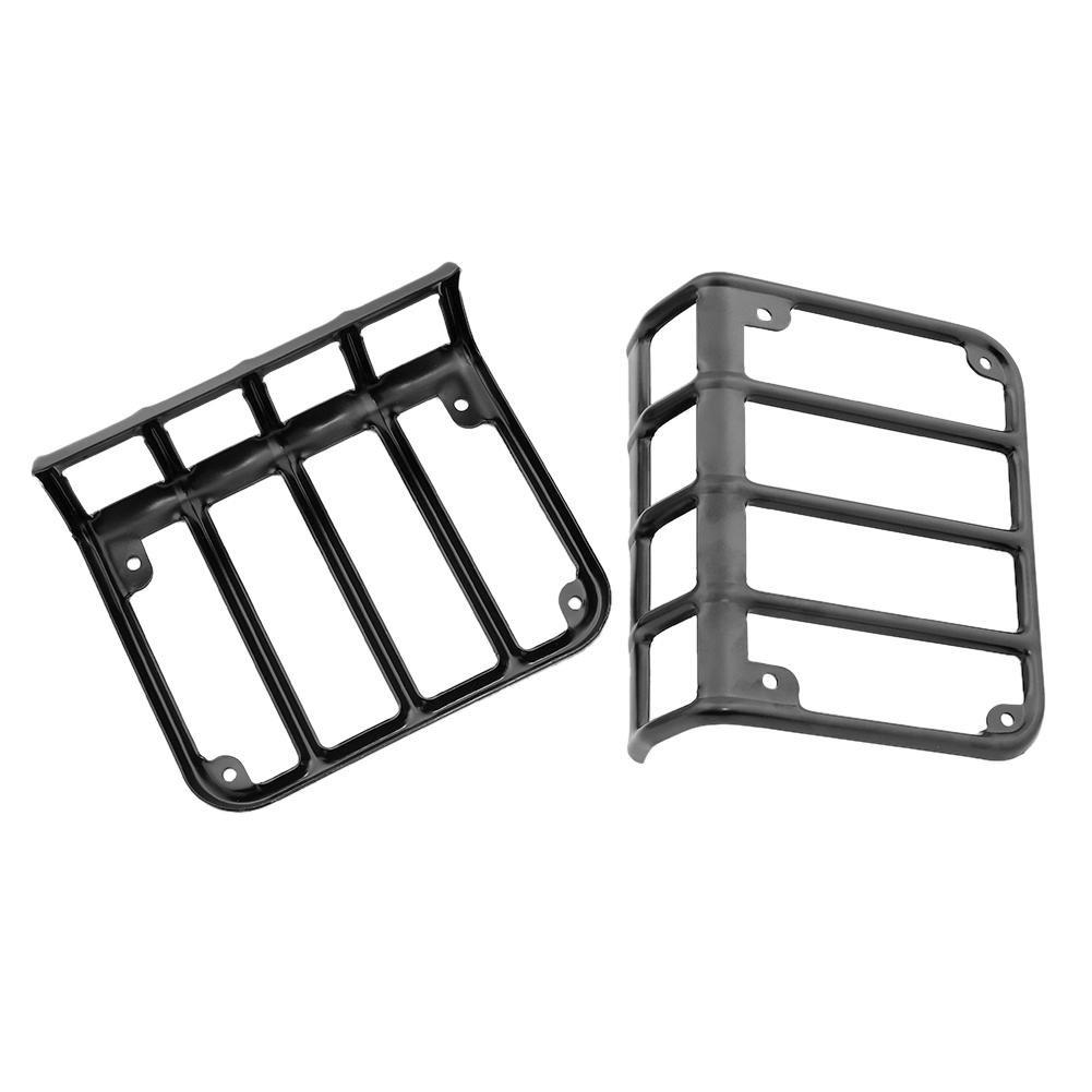 17/Jeep Wrangler JK JKU NELNISSA 1/Paar hinten R/ücklicht Abdeckungen f/ür 07
