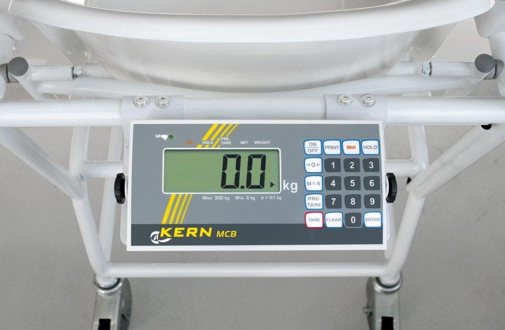 Silla Báscula con núcleo de escaneado Autorización [MCB 300 K100 M] mobile silla Báscula con cuatro ruedas y escaneado de y medicina Autorización, ...