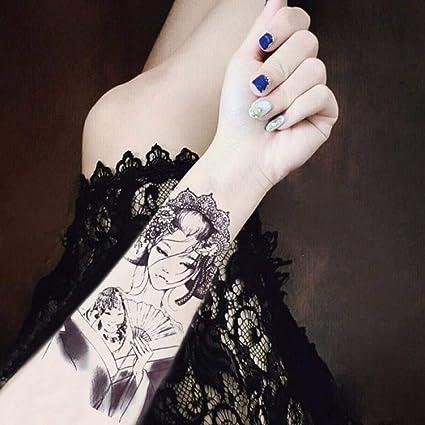 Tatuaje 50 Pegatinas De Tatuaje Impermeables Para Hombres Y ...