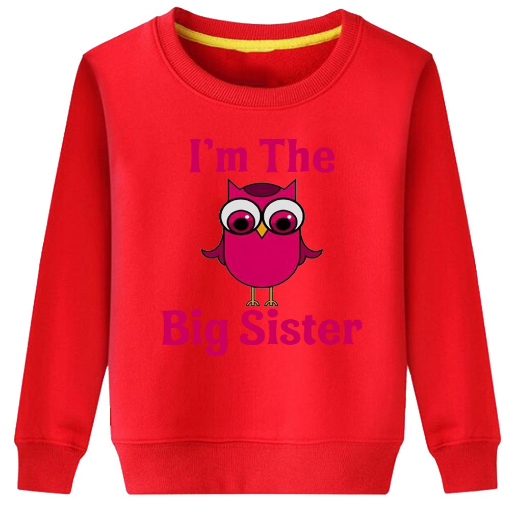CIN-FAN Kids I'm The Big Sister Sweatshirt