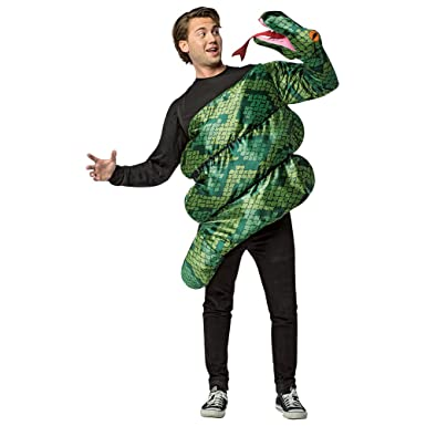 sc 1 st  Amazon.com & Amazon.com: Rasta Imposta Adult Anaconda Snake Costume: Clothing
