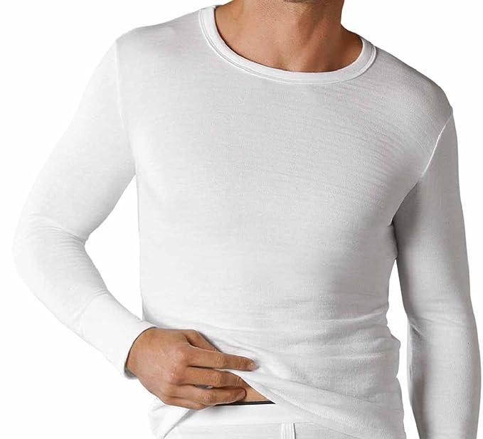 Classic para hombre camiseta térmica de manga larga T Shirt Chaleco Invierno Ropa Interior: Amazon.es: Deportes y aire libre