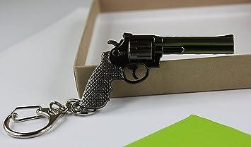 Amazon.com: Pistola de en miniatura modelo llavero bolsa ...
