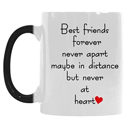 Amazoncom Interestprint Best Friends Long Distance Morphing Mug