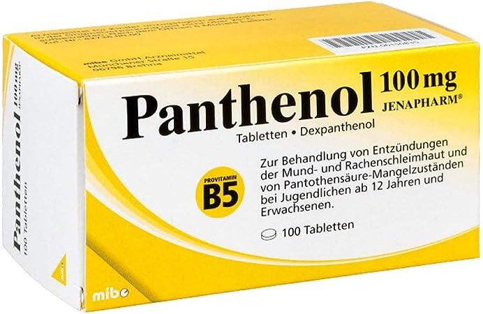 Panthenol 100mg Jenapharm 100 St Amazon De Drogerie Körperpflege