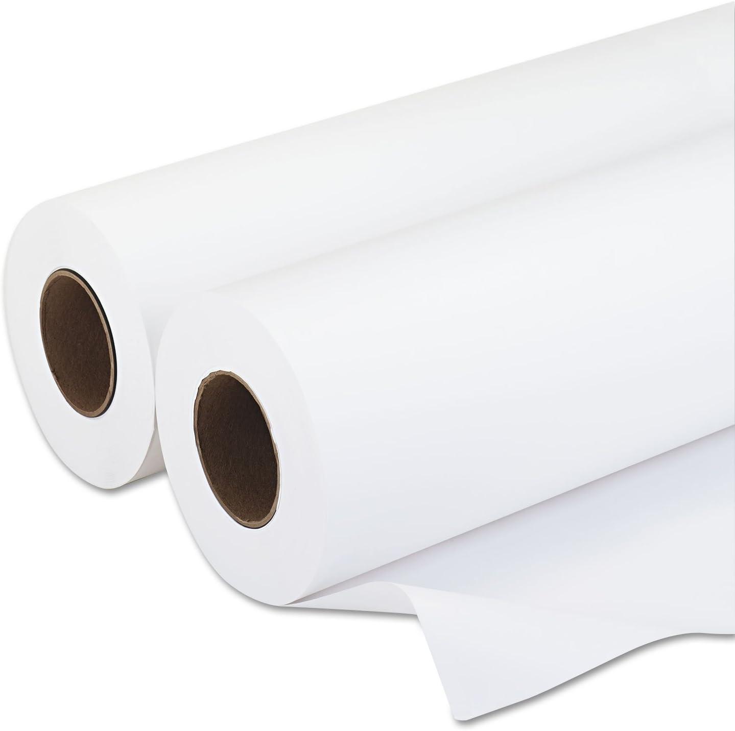 PM Company Amerigo Wide-Format Inkjet Paper, 20-Pounds, 3-Inch Core, 24-Inch X 500 Feet, 2 per Carton (PMC09124)