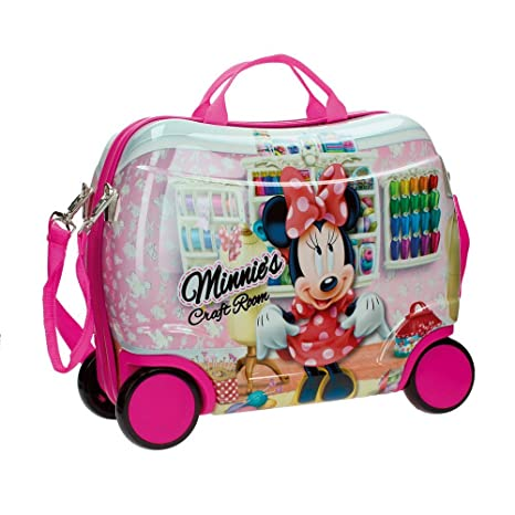 Disney Craft Room Equipaje Infantil, 25 litros, Color Rosa