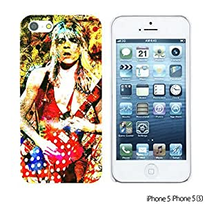OnlineBestDigitalTM - Celebrity Star Hard Back Case for Apple iPhone 5S / Apple iPhone 5 - Randy Rhoads