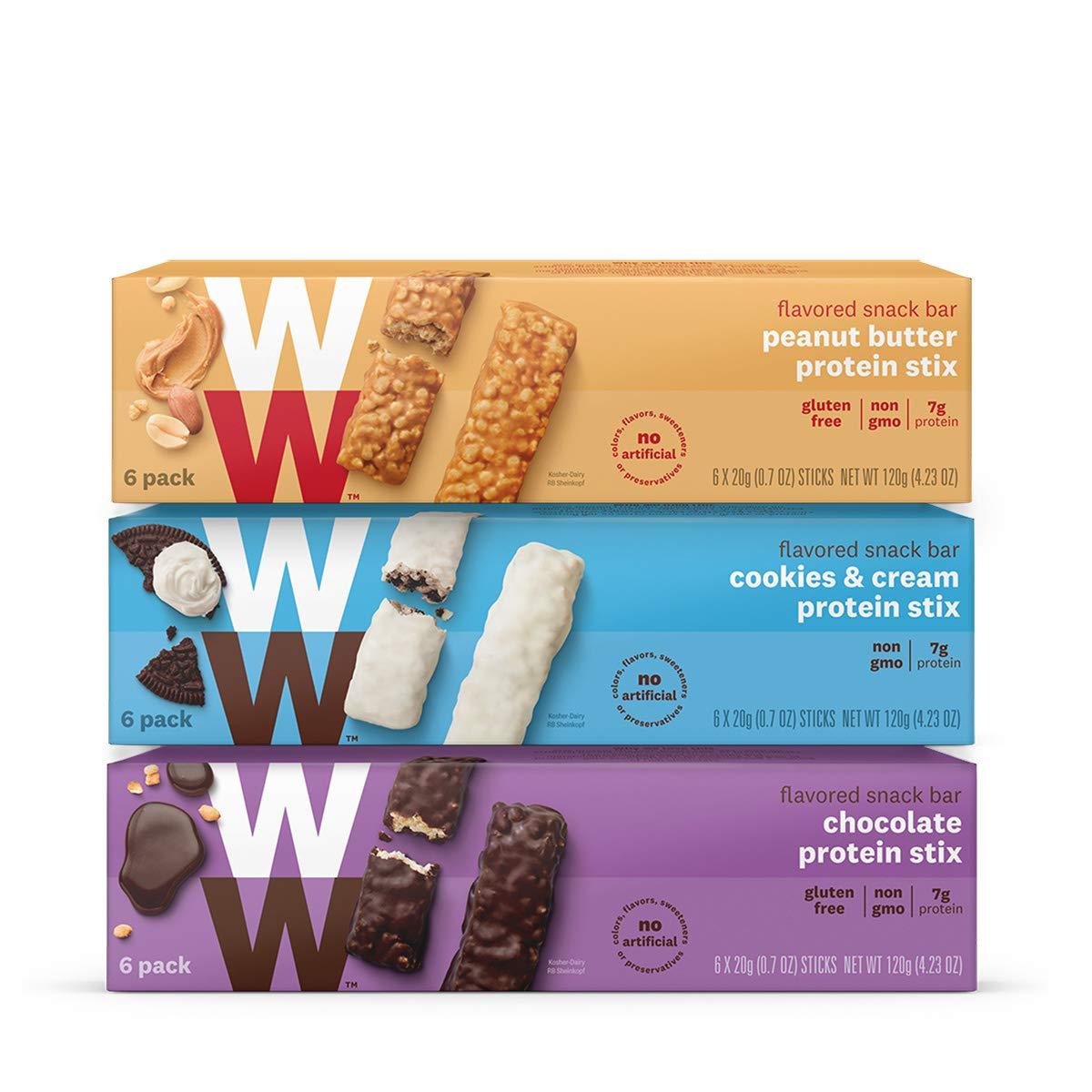 Weight Watchers Protein Stix Three Pack Value by WW