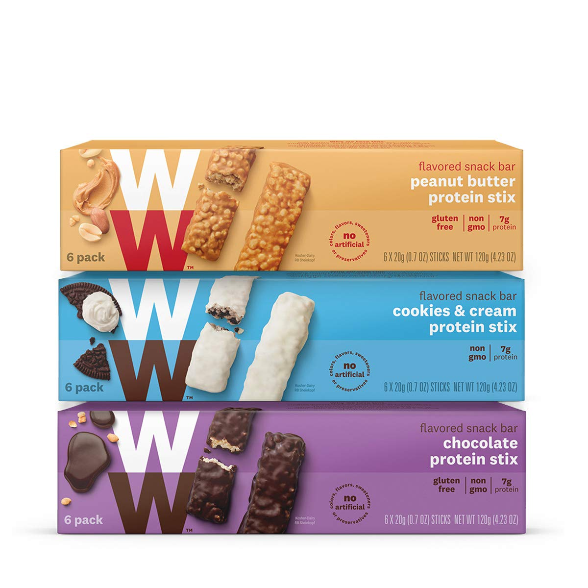 Weight Watchers Protein Stix Three Pack Value