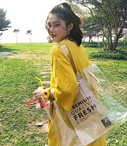 Bag Top Stadium Clear Bag World PGA Zippered Concerts Sports Work Games School and NFL Straps Tote Meets Guidelines Perfect Clear Shoulder Clear and The Cup Tournament Is for Approved and vwIOq5