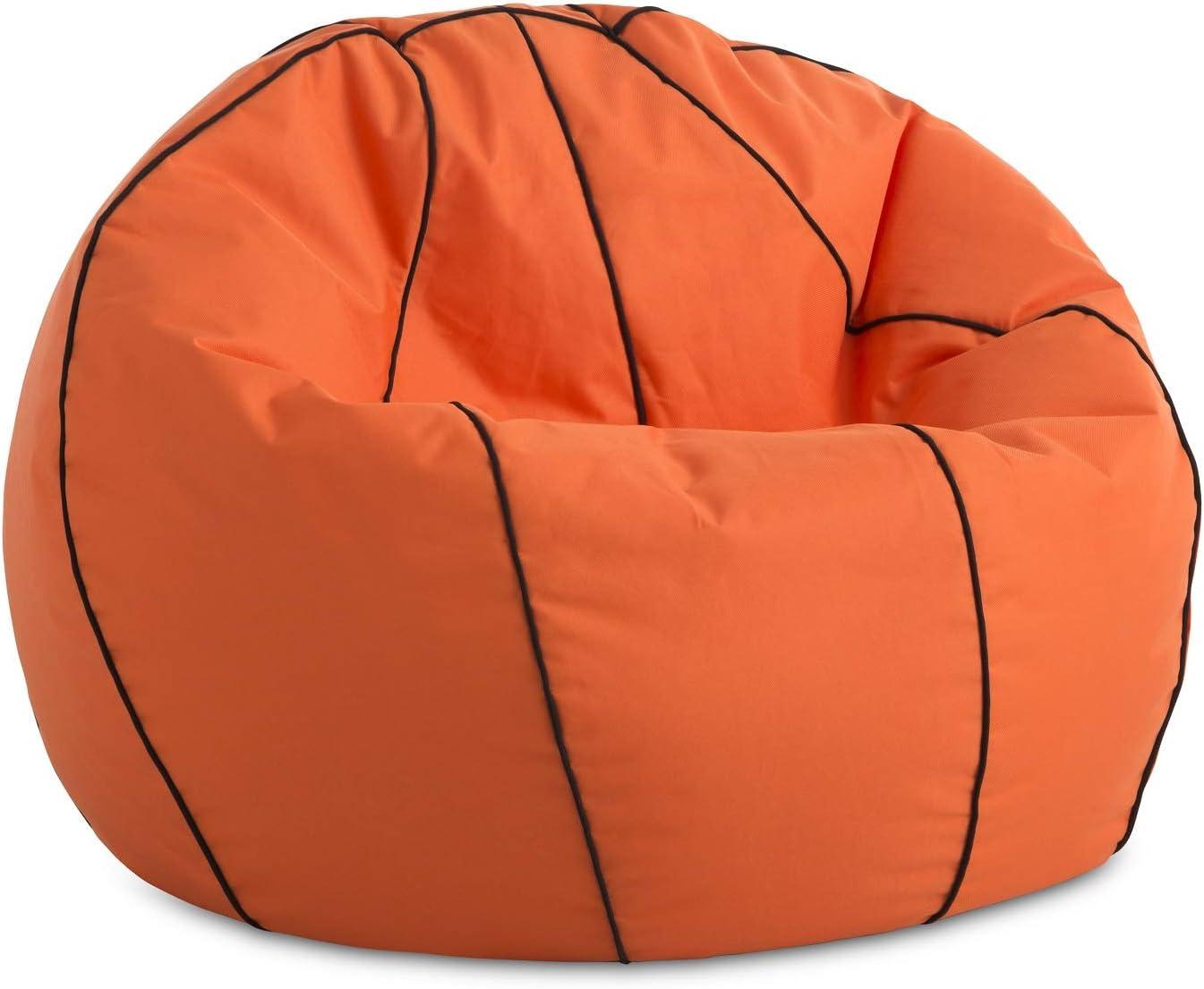 Textilhome - Balón PUF de Futbol Pelota de Puff, 90cm Diametro ...