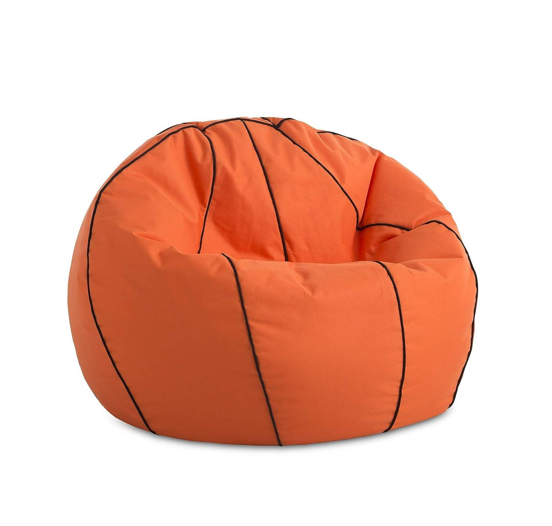 Doppio Rimbalzo Tessuto in PVC. 90cm Diameter Divertente Difficile Poltrona Basket Cestino Puff Textilhome