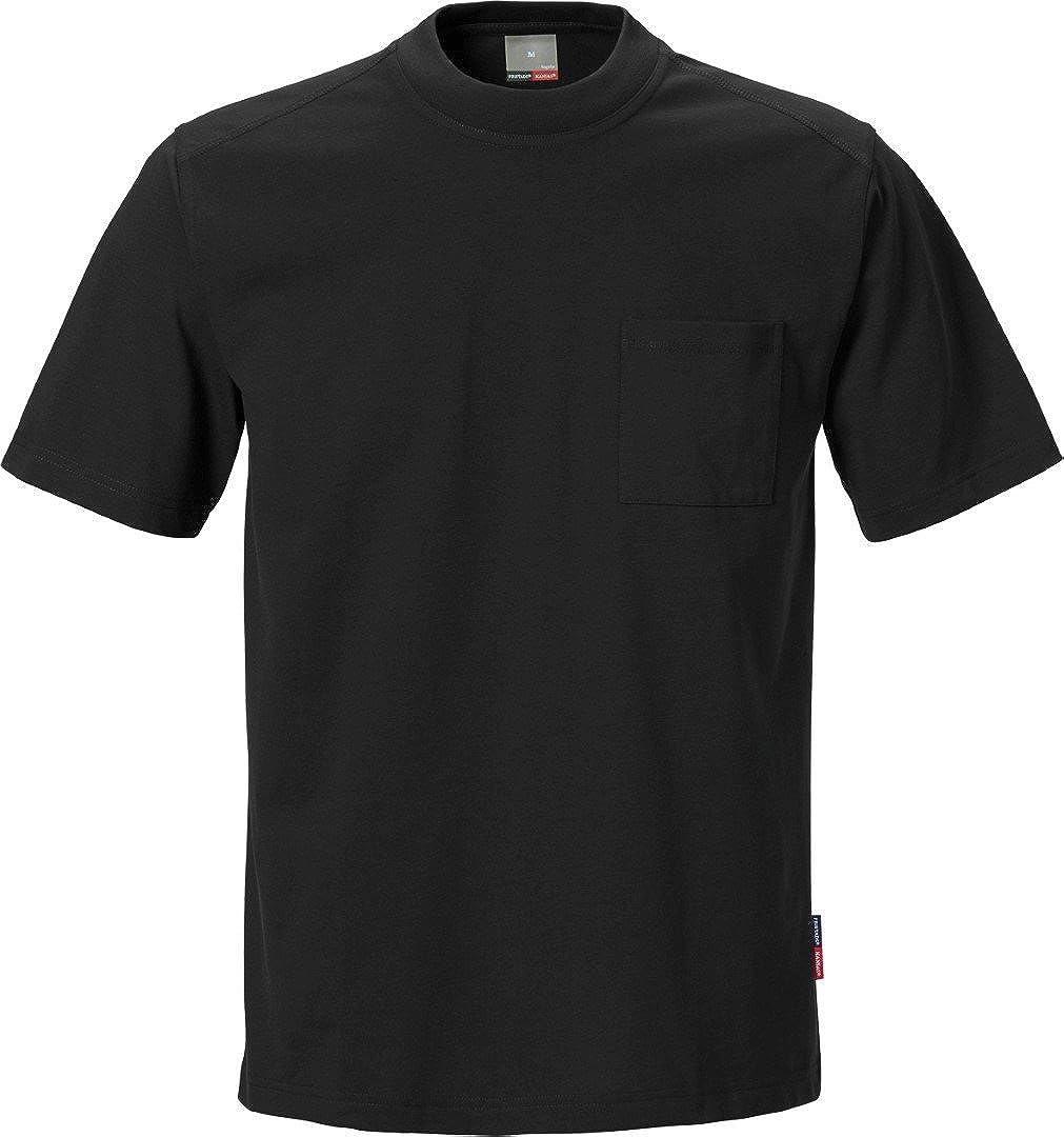 schwarz FRISTADS KANSAS Match T-Shirt XXXL