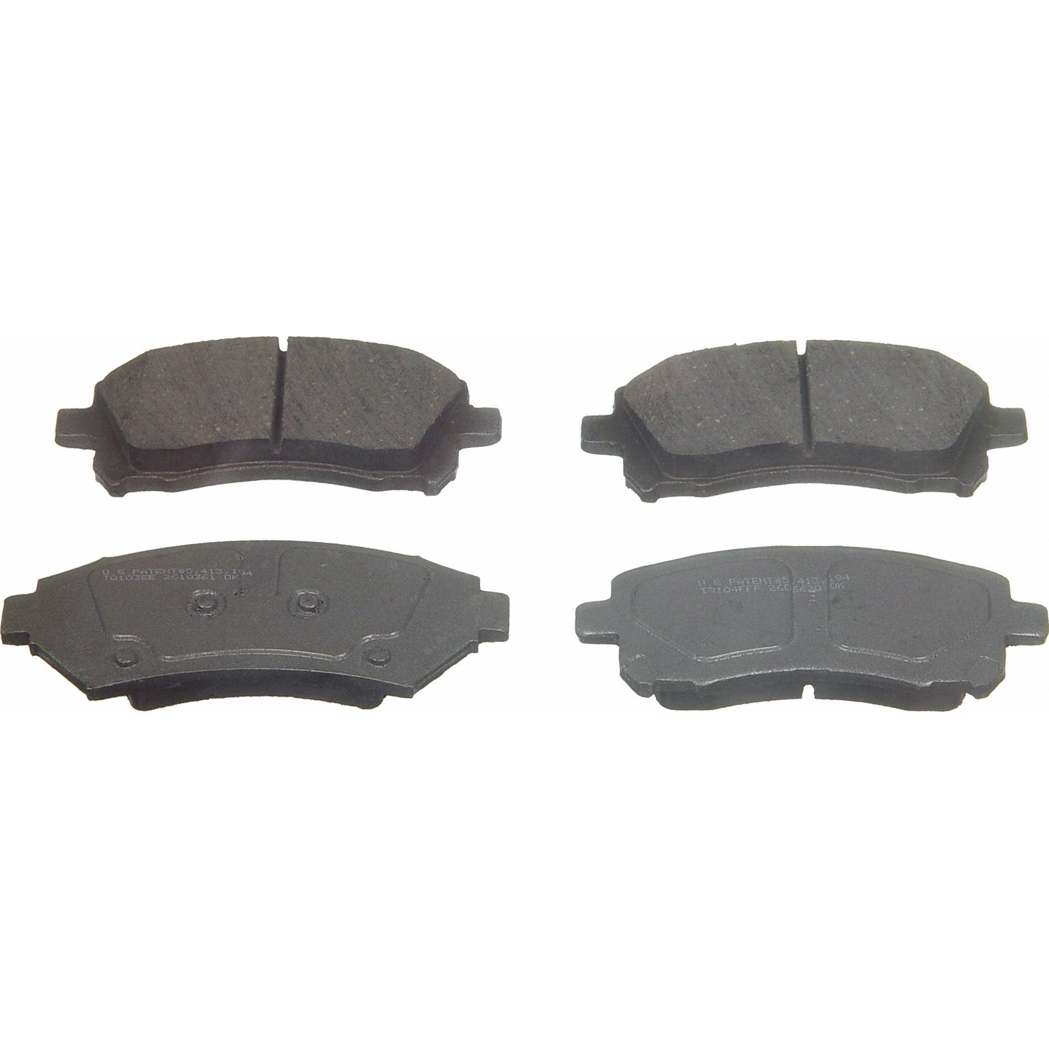 Wagner ThermoQuiet PD721 Ceramic Disc Pad Set Front