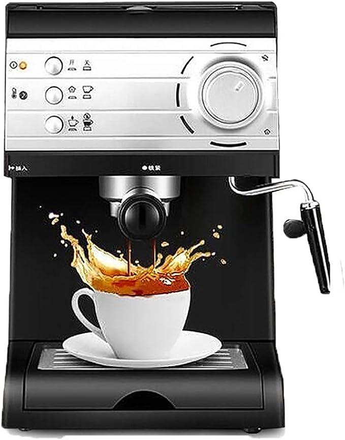 ZUEN 850W / 1.5L / 20Bar Cafetera Espresso eléctrica Máquina de café semiautomática Hogar Pequeña máquina: Amazon.es: Deportes y aire libre