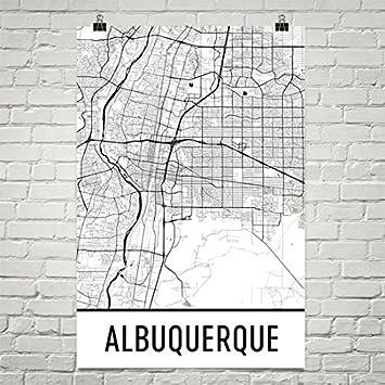 Amazon.com: Albuquerque Poster, Albuquerque Art Print, Albuquerque ...