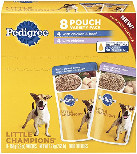pedigree-little-champions-meaty-ground-chicken-variety-pack-dog-food-53-ounces-pack-of-4