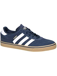 finest selection f5585 c0e71 adidas Mens Busenitz Vulc Adv Skateboarding Shoes Blue