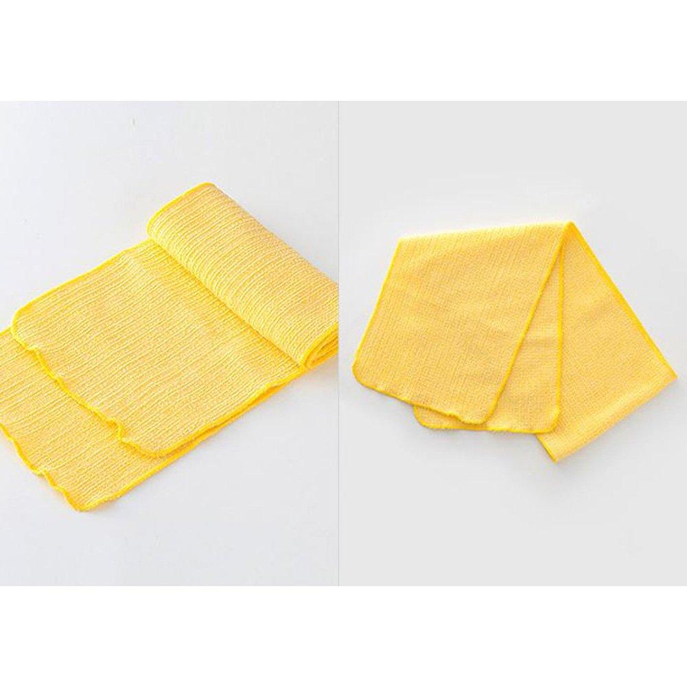 100% Natural, Organic / Beauty Skin, Shower and Bath Wash Cloth/ Body Scrub Towels / Made in Korea (Long) by HW GLOBAL (Image #3)