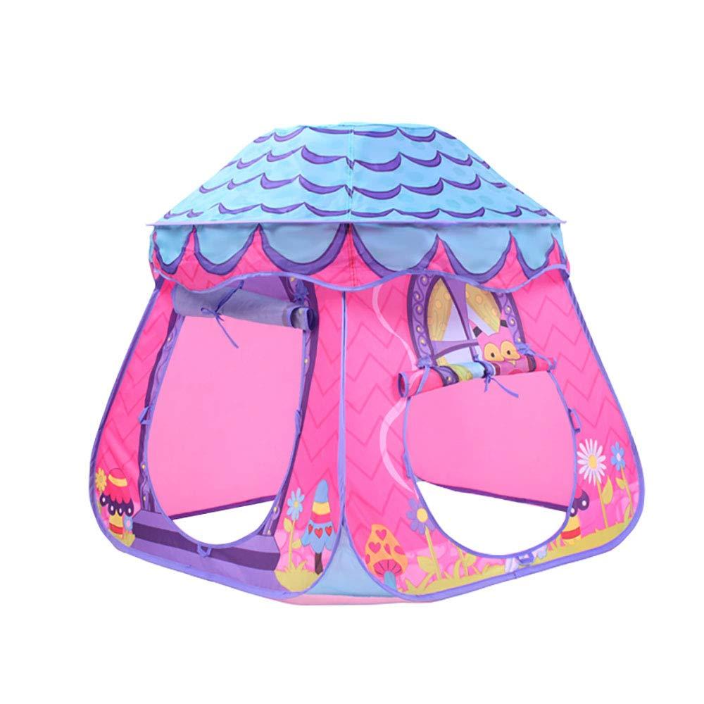 B  Global-tent Petite Tente De Maison De Jeu De Champignon, Petite Tente De Tunnel IntéRieur, Squelette éLastique MatéRiel De Haute Qualité