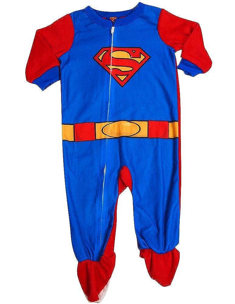 Superman - Baby Boys Superman Blanket Sleeper Red Royal 33862-24Months