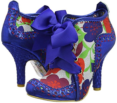 Choice Mujeres Botas Party Azul Abigail's Floral Calza Third Irregular dqUPHYd