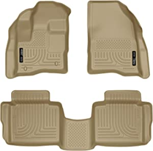 Husky Liners Fits 2010-19 Ford Taurus Weatherbeater Front & 2nd Seat Floor Mats